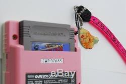 Game boy Color Sakura Card Captors Pink Limited Edition JAPAN Tested Works #1455