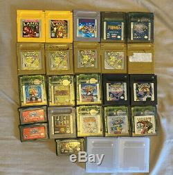 Game boy Color with Game boy Advance Games Lot