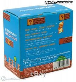 GameBoy Advance Konsole GBA SP inkl. Stromkabel #Famicom Color Edition mit OVP