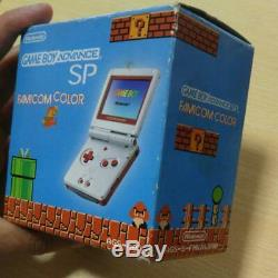 GameBoy Advance SP console Famicom Color manual BOXED game boy