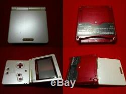 GameBoy Advance SP console Famicom Color manual BOXED game boy From Japan Used