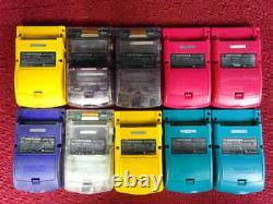 GameBoy Color GBC Lot of 10 Set Nintendo random Console Japan Vintage Junk