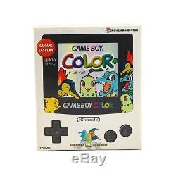 GameBoy Color Konsole #Pokemon Center Ltd. Rare Edt. JAP mit OVP Top Zustand