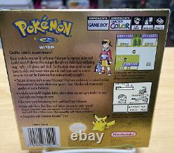 GameBoy Color Pokémon Gold Version Complete In Box Great Condition