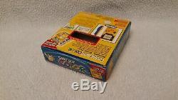 GameBoy Color Pokemon Pikachu Edition Handheld System COMPLETE