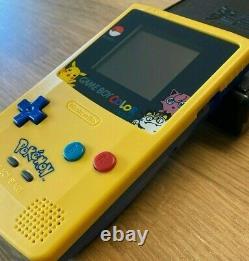GameBoy Color Pokemon Pikachu Edition Nintendo System Backlit TFT Game Boy GBC