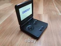 Gameboy Advance SP IPS V2 Screen Mod Transparent Solid Black Color