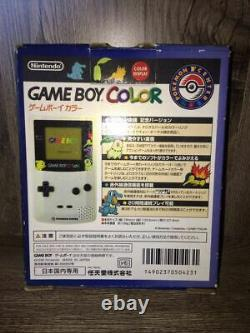 Gameboy Color Body Pokemon Center Limited Pokemon Gold and Silver Model GBC New