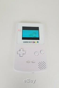 Gameboy Color Full Size IPS Backlight White Rechargeable