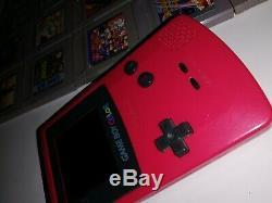 Gameboy Color Konsolen Paket inkl. 25 Spielen (KONVOLUT 3)