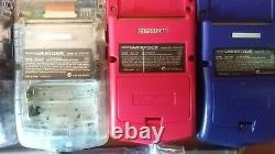 Gameboy Color / Pocket Lot of 13 set Junk for parts Nintendo console GBC FS JP