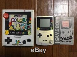Gameboy Color Pokemon Center Console Japan COMPLETE NEAR MINT WOW