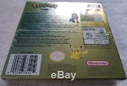 Gameboy Color Pokemon Gold Version Brand New & Factory Sealed