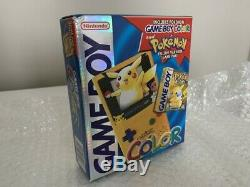 Gameboy Color Pokemon Limited Edition Yellow Factory Sealed