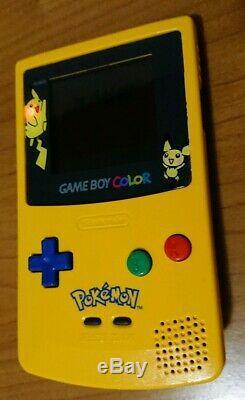 Gameboy Color Special Edition Pokemon Da Collezione Ovp In Scatola+manuali