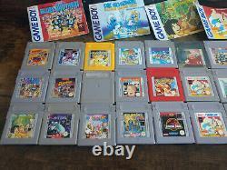 Gameboy Color Spielesammlung 27 Spiele