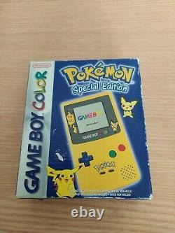 Gameboy Colour Pokémon Special Edition