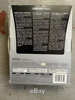Gameboy Micro CIB Complete in Box Nintendo Color With Two Faceplates Game Boy