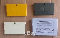 Gameboy Micro Famicom Color Console set + 3 games Mario 2 Nintendo Tested