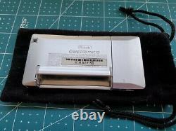 Gameboy Micro Oxy-001 Console Silver & Black