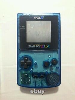 Gameboy color ANA Limited Edition Box Boxed CIB