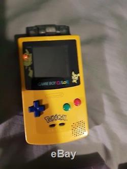 Gameboy colour bundle 2 consoles and 7 games