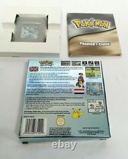 Genuine Boxed Pokemon Silver Nintendo Game Boy Color COMPLETE
