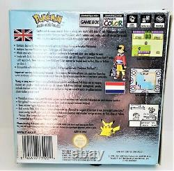 Genuine Pokemon Silver Version Video Game for Nintendo Game Boy Color PAL BOXED