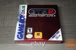Grand Theft Auto 2 GTA2 (Game Boy Color, GBC 2000) FACTORY SEALED & MINT