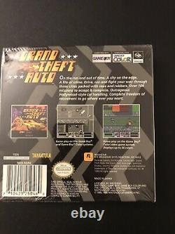 Grand Theft Auto GTA Nintendo Game Boy Color Brand New Sealed Rockstar Games