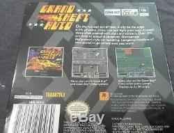 Grand Theft Auto (Game Boy Color, 1999) Original GTA Factory Sealed (BLEMISHES)