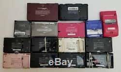 Huge Handheld Video Game System Lot DS Lite 3DS DSi XL Gameboy Advance Color SP