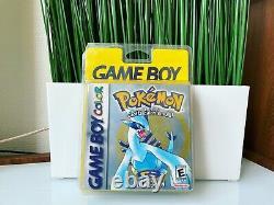 Jeu Nintendo Game Boy Color Pokemon Silver Version Blister Rigide