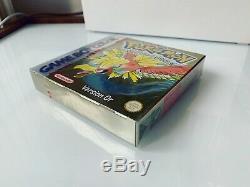 Jeu Nintendo Game Boy Color Pokémon Version OR Neuf Blister VF