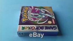 Jeu Nintendo Gameboy Game Boy Color Pokemon version Cristal complet