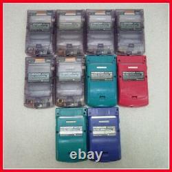 Junk Nintendo GameBoy Color GBC Lot of 10 Set random Console USED