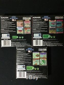 Konami GB Collection Vol. 4 Vol 2 & 1 CIB Complete Gameboy Color Castlevania Lot