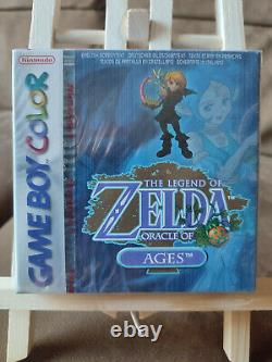Legend Of Zelda Oracle Of Ages (Nintendo Game Boy Color) sealed - Neu - mint