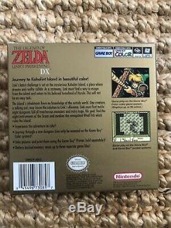 Legend of Zelda Link's Awakening DX Complete (Nintendo Game Boy Color, 1998)