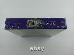 Legend of Zelda Oracle of Ages (Game Boy Color, 2001) NEW SEALED