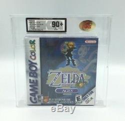 Legend of Zelda Oracle of Ages (Nintendo Game Boy Color, 2001) UKG 90+ Gold