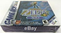 Legend of Zelda Oracle of Ages Nintendo Game Boy Color Brand New Sealed