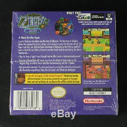 Legend of Zelda Oracle of Ages & Seasons Game Boy Color New, Sealed withH-Seam