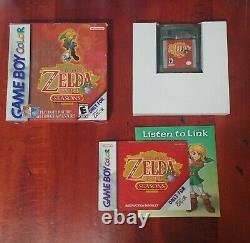 Legend of Zelda Oracle of Ages and Seasons CIB Bundle (Game Boy Color, 2001)