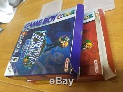 Legend of Zelda Oracle of Seasons & Ages Nintendo Game Boy Color