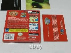 Legend of Zelda Oracle of Seasons Nintendo Game Boy Color Complete CIB Tested