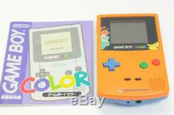 Limited edition Nintendo Gameboy Color Pokemon Orange color console 290