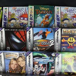 Lot 32 Nintendo Game Boy Advance GBA & Color GBC Games CB withBox & CIB withManual