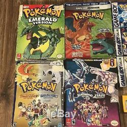 Lot of Nintendo Game Boy Color Pokemon Red Pickachu Blue Gold CIB TESTED WORKING