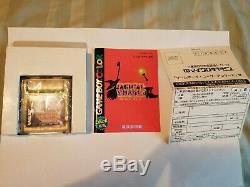 Magical Chase Nintendo Game Boy Color GBC, Japanese, Original, Complete, Rare